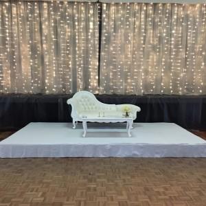 Silver 2 Tone Fairy Curtain